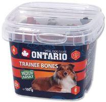 ONTARIO pochoutka Trainee Bones 100g