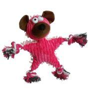 Medvěd textil se zvukem 28x30cm