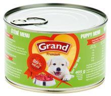GRAND konzerva štěně Menu 405g