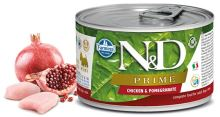 N&D DOG PRIME Adult Chicken & Pomegranate Mini 140g 1 + 1 ZDARMA