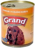 GRAND konzerva pes Extra s 1/4 kuřete 850g