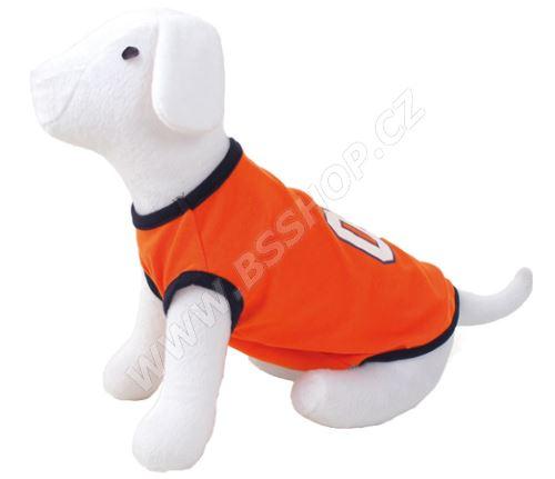 Triko DOG FANTASY sport 01 oranžové
