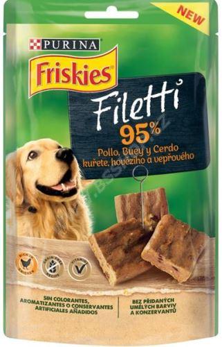 Friskies snack Dog - Filetti s kuřetem 70g - EXP 06/2021
