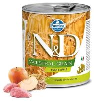 N&D DOG Low Grain Adult Boar & Apple 285g - 1 + 1 ZDARMA