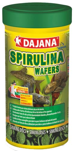 Dajana Spirulina Wafers - tablety 100ml