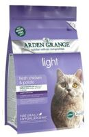 Arden Grange Cat Adult Light Chicken & Potato 2kg - EXP 07/2019