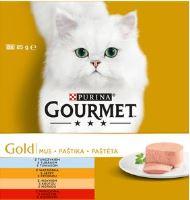 Gourmet Gold Multipack paštik 8x85g