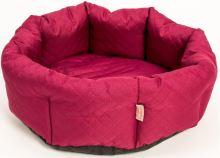 Pelech kruh textil Elegance vínový 50cm