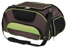 Cestovní taška WINGS do letadla, šedo-zelená 28x23x46cm 20kgm, Trixie