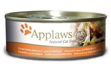 Applaws konzerva Cat kuřecí prsa a dýně 156g