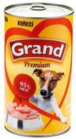 GRAND konzerva pes drůbeží 1300g