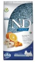 N&D OCEAN DOG Low Grain Adult Mini Codfish & Orange 7kg