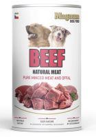 Magnum Natural BeefF Meat dog 1200g