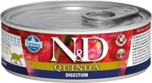 N&D CAT QUINOA Adult Digestion Lamb & Fennel 80g - 1 + 1 ZDARMA