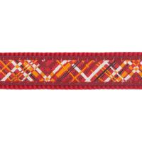 Obojek RD 12 mm x 20-32 cm - Flanno Red