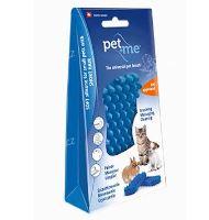 PET and ME kartáč pro kočky, krátká srst, modrý