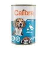 Calibra Dog konzerva Duck, rice & carrots in gravy 1240g NEW