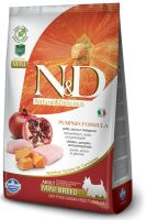 N&D Grain Free Pumpkin DOG Adult Mini Chicken & Pomegranate 7kg