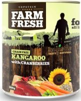 Topstein Farm Fresh Kangaroo with Cranberries 400g