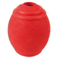 Rugby míč na pamlsky tvrdá guma Trixie