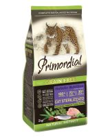 Primordial GF Cat Sterilizzato Turkey & Herring 2kg