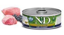 N&D CAT PRIME Adult Lamb & Blueberry 80g