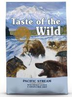 Taste of the Wild Pacific Stream Canine 12,2kg + obojek FORESTO 70cm