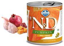 N&D DOG PUMPKIN Adult Quail & Pumpkin 285g - 1 + 1 ZDARMA