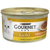 GOURMET GOLD Sauce Delights s kuřetem 85g