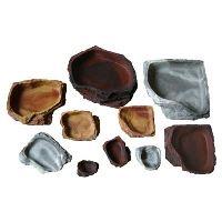 Lucky Reptile Rohové krmítko Granite malé, cca 9x9x2cm