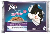 Felix cat kapsička Fantastic Multipack Junior v želé 4x100g