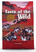 Taste of the Wild Southwest Canyon Canine 12,2kg + obojek FORESTO 70cm
