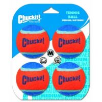 Míčky tenisové Medium 6,5cm - 4 na kartě