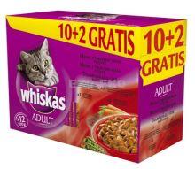 Whiskas kapsa Menu z tmavého masa 12x100g