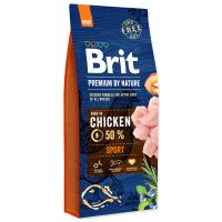BRIT Premium by Nature Sport 15kg + obojek FORESTO 70cm