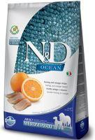 N&D OCEAN DOG Grain Free Adult Medium/Large Herring & Orange 2,5kg