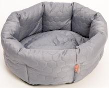 Pelech kruh textil Elegance šedý 50cm