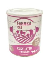 FARMKA CAT s játry 800g