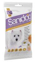 SANIDOG čistící rukavice 4ks s heřmánkem Camomile pro psy