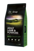 Profine NEW Dog Adult Lamb & Potatoes 15kg