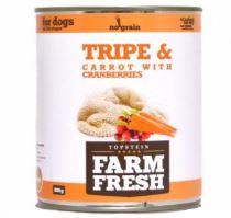 Farm Fresh Tripe & Carrot with Cranberries 800g