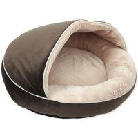 Pelíšek DOG FANTASY Comfy3 čokoládový 50cm