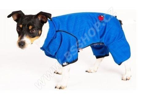 Obleček - Kombinéza softshell nepromokavá modrá
