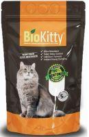 Bio Kitty hrudkující podestýlka pro kočky natural 5l