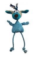 Přetahovadlo Pes modrý 49cm