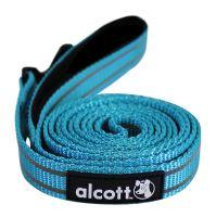 Alcott reflexní vodítko pro psy modré