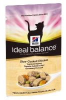 Hill's Feline Ideal Balance Adult dušené kuře kapsa 85g