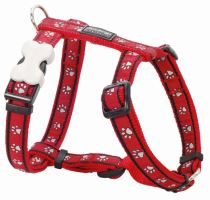 Postroj RD - Pawprints Red