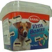 SANAL Vita Bones - poloměkké kostičky kuře, hovězí 100g