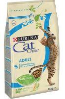 Purina Cat Chow Adult s tuňákem a lososem 1,5kg